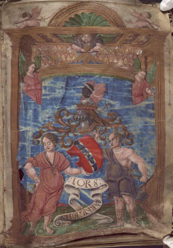 Manuscrits - Frontispice